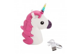 POWER BANK UNICORNIO 1200mha EN CAJA DE REGALO