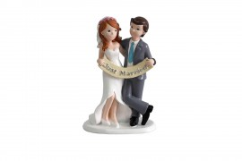 FIGURA PASTEL JUST MURRIED